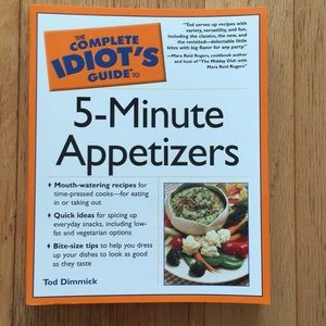 Cookbook - 5 minute Appetizers